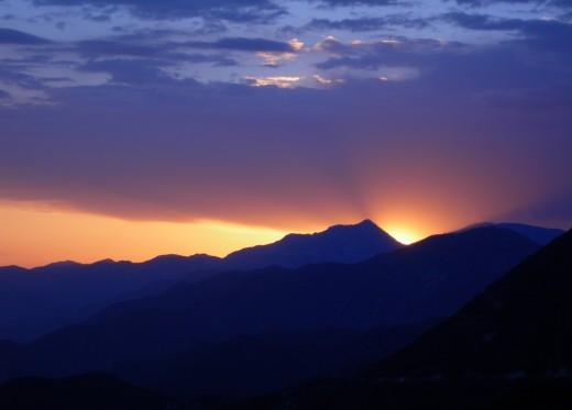David Mix sunset photo